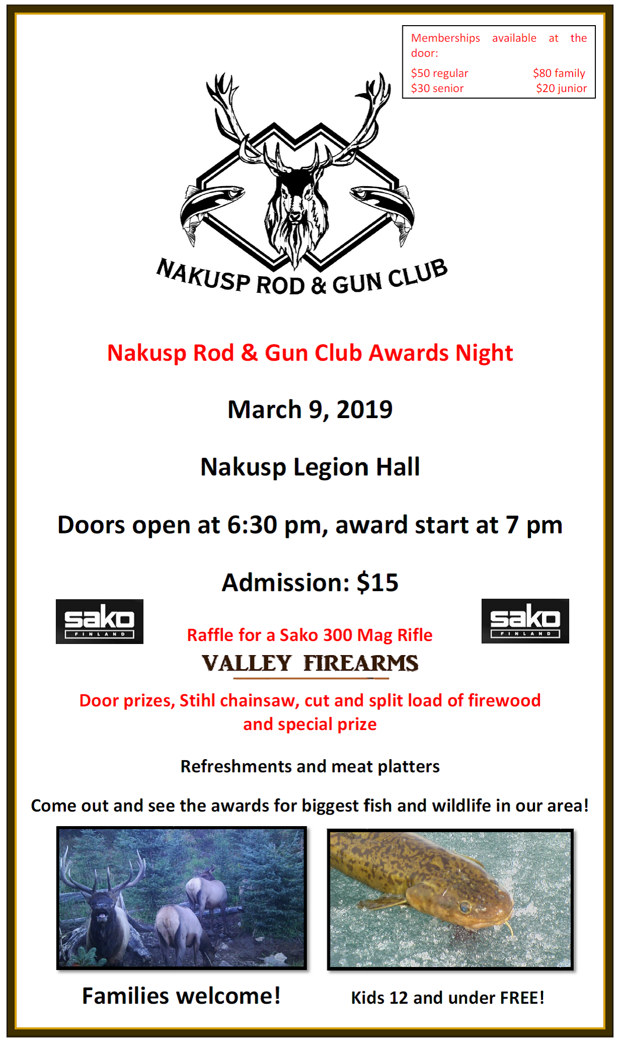 Nakusp Rod and Gun Club